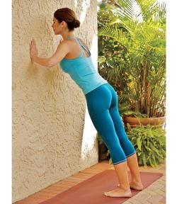 wall push ups