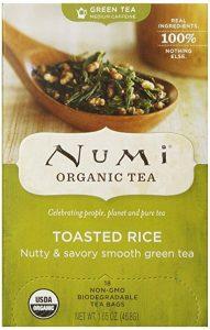 Numi Sencha tea