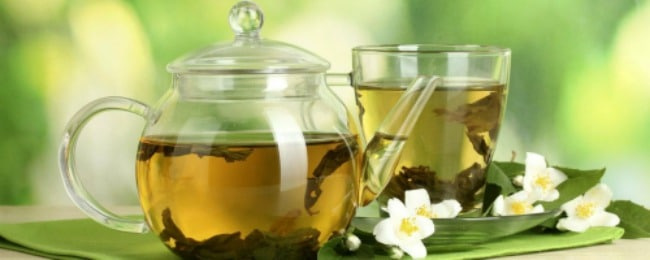 How many calories does a cup of green tea burn
