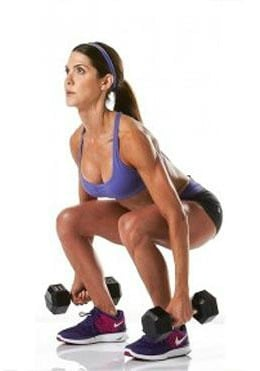 squats for boosting metabolism