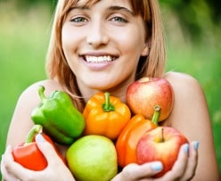stay healthy with diverse nutrition