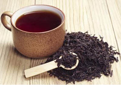 black tea before workout
