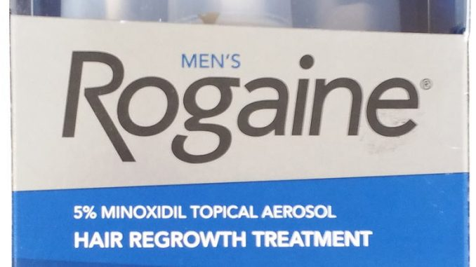 rogaine men foam