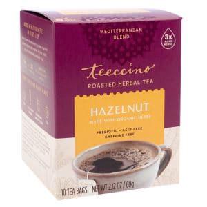 Teeccino Hazelnut tea