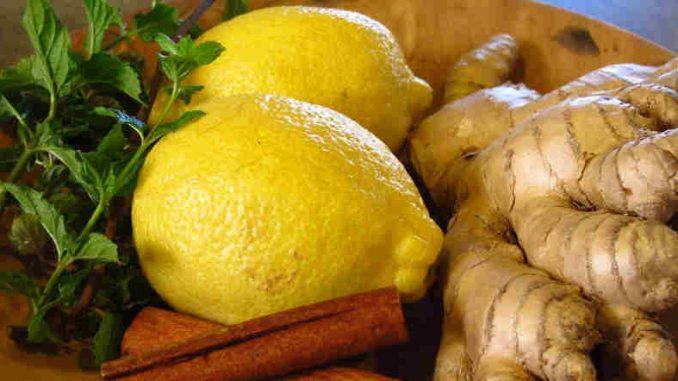 Ginger tea for headaches