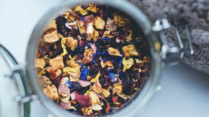 herbal tea for skin problems
