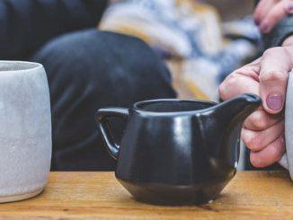home made tea