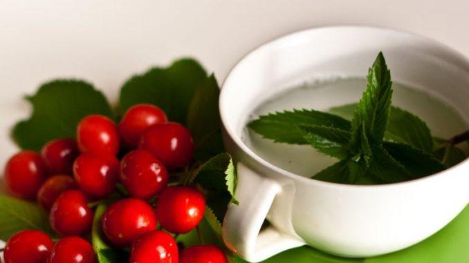mint tea for constipation
