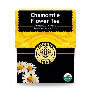 chamomile flower tea