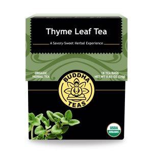 thyme leaf tea